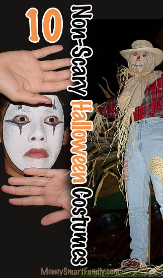 10 Non-Scary Halloween Costumes - Cheap, Fast & Easy!
