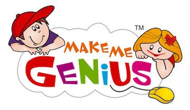 Make Me Genius educational website logo