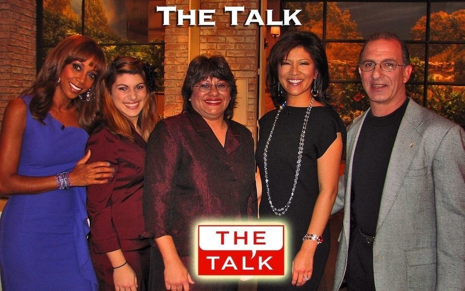 America's Cheapest Family, Steve & Annette Economides appear on The Talk with Holly Robinson Peete and Julie Chen