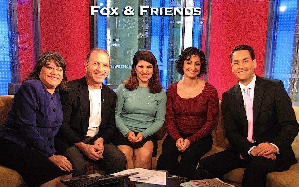 Steve & Annette Economides, MoneySmart Family appear on Fox and Friends.