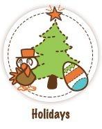 Holidays Icone
