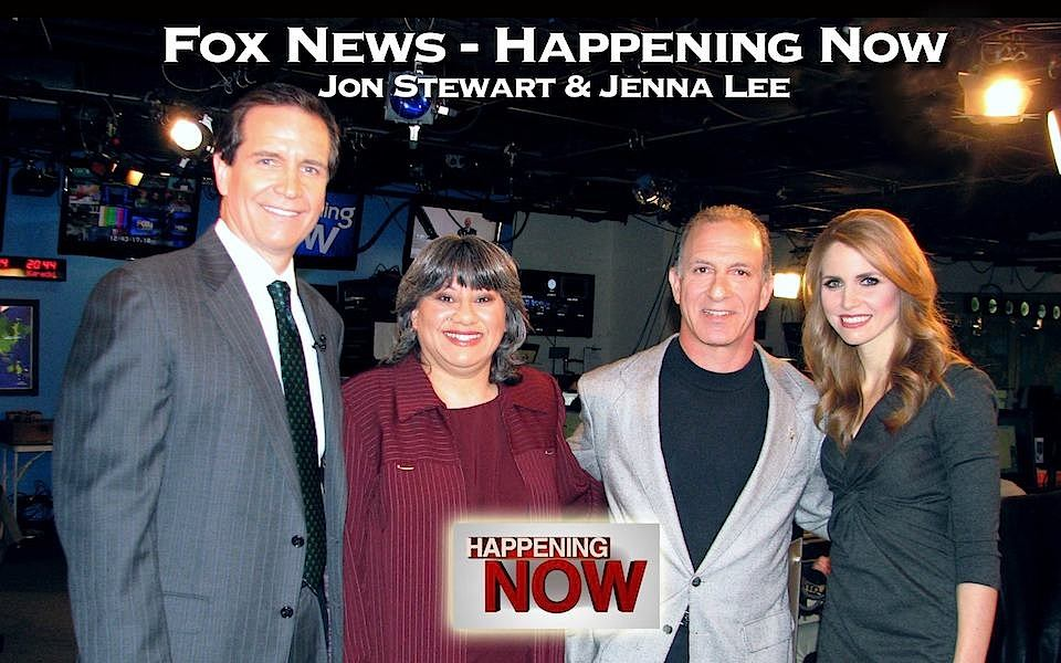 MoneySmart Family, Steve & Annette Economides with Jon Stewart and Jenna Lee on Fox News Happening Now