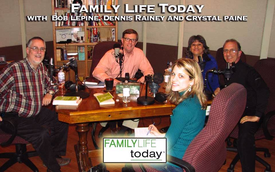 Family Life Today radio hosts Bob Lepine and Dennis Rainey interview Steve & Annette Economides and Crystal Paine.
