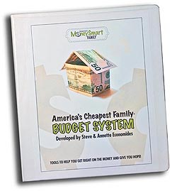 America's Cheapest Family Household Budget System
