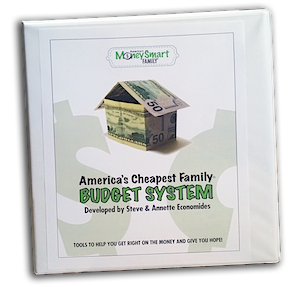 America's Cheapest Family Budget System