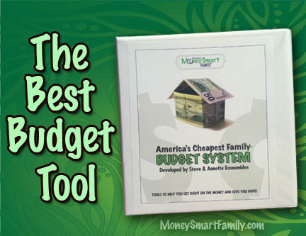 The Best Budget Took with America's cheapest Family Budget system