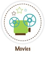 Movie reviews icon