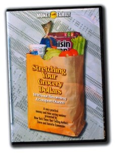 Stretching Grocery Dollars Audio Seminar CD Kit or Instant Download