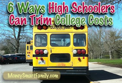 6 Things High School students can do that will crush the cost of college.
