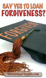 Black mortar board with a brown tassel and the word forgiveness on the top.