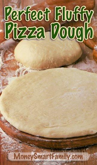 The Perfect Fluffy Pizza Dough Recipe! #PerfectPizzaDough #PizzaDough #FluffyPizzaDough #HomemadePizzaDough