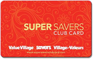 Savers - Super Savers Club Card