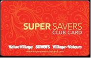 Savers - Super Savers Club Card