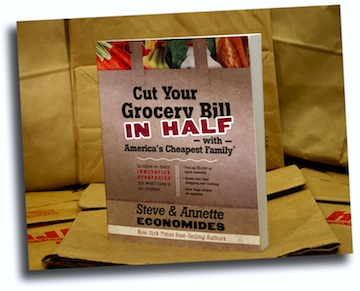 Cut your grocery bill in half with America's Cheapest Family - Steve & Annette Economides