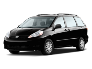 Black Mini van from Toyota