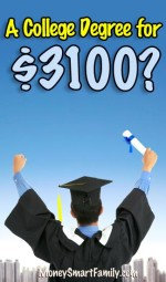 A College Degree for $3100, yes it's possible!