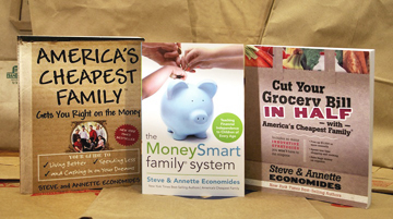 3 Books written by Steve & Annette Economides