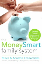 The MoneySmart Family System - Book Cover- Family Choice Award Winner