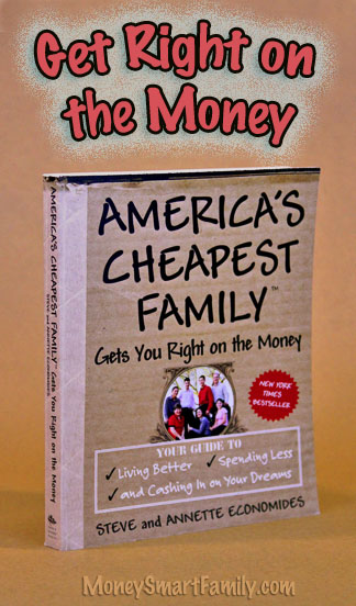 America's Cheapest Family Gets You Right on the Money is a great book for tips on every area of household Budgets!