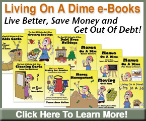 Living On A Dime Ebook ad.