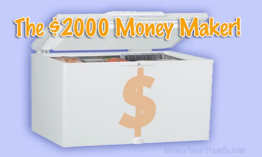 You won't believe how much money a freezer save your family on grocery purchases! It's amazing!