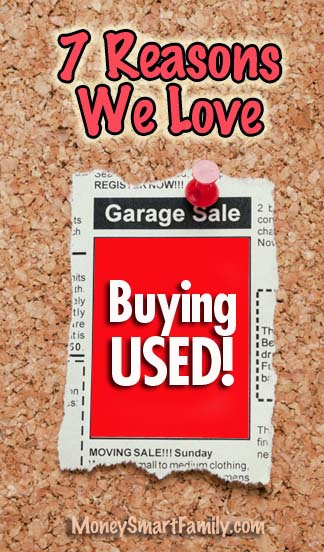 Buying Used Stuff - 7 Ways to Find the Best Deals!