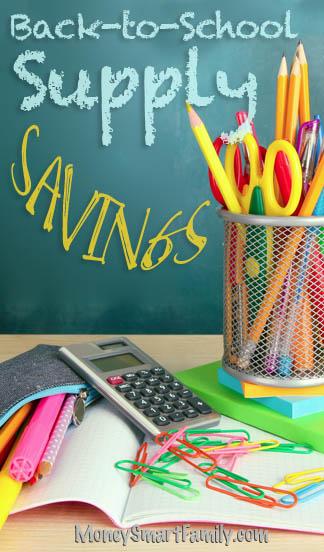 Back to School Supplies - 5 Ways to Save Big Money.