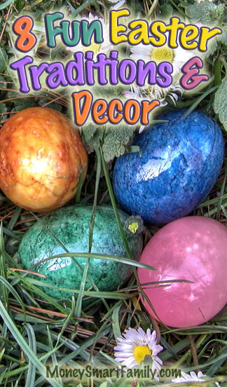 11 Easter Traditions for Families - Crafts, Decorations & Activities. #EasterDecorations #EasterCrafts #EasterActivities