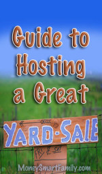 Garage Sale Guide-Tips for Hosting a Great Garage Sale!