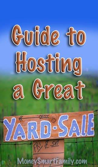 Garage Sale Guide-Tips for Hosting a Great Garage Sale!