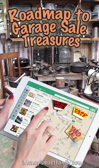 Garage Sale Treasures - 7 Shopping Strategies!