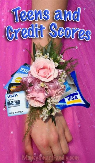 Teenagers & Credit Scores: how to help them establish good credit!