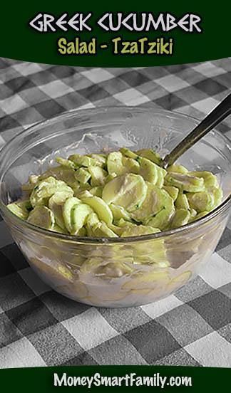 Tasty Greek Cucumber Recipe called Tzatziki. So easy and flavorful!