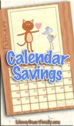 Paper Calendars don't have to cost anything or very little!