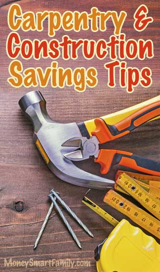Carpentry and construction savings super page for How contractors make money