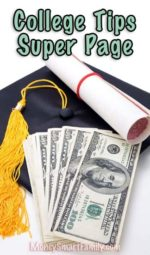 College Tips Money Saving Super Page.