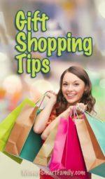 10+ Gift Shopping Money Saving Ideas!