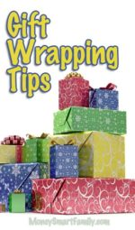 Many Ways to Save Time & Money on Gift Wrapping!