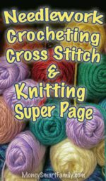 Needlework, Crocheting & Knitting Super Page of Ideas!