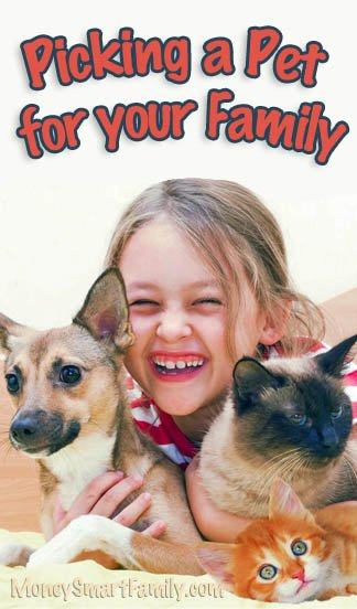 Pets for Kids: 8 Different choices for Your Family!