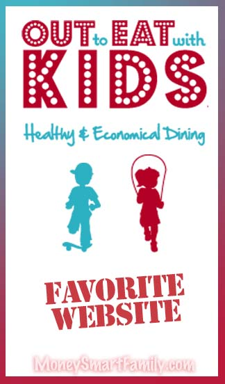 Out To Eat with Kids Logo Poster.