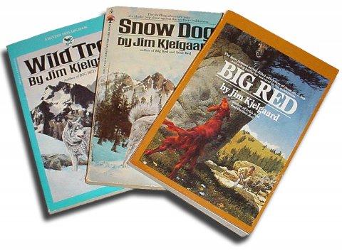 Jim Kjelgaard Adventure Books