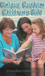 A grandmother, mom and daughter reading My Heritage Book.