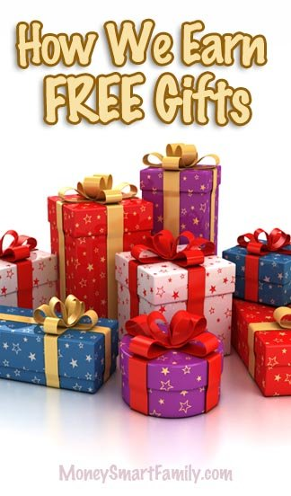 How we earn free gifts with Swagbucks - a great way to save money!