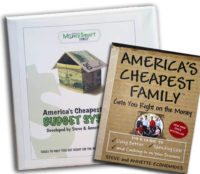 America's Cheapest Family Book and Budget System Bundle