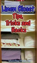 Linen Closet Organization/ Linen Closet Storage DIY/ Organize Linens