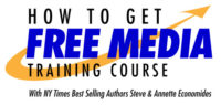 How to Get Free Media Training Course Logo.