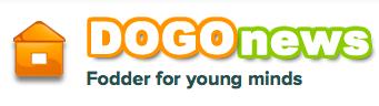 Dogo News Logo - Educational Website for Children.