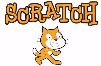 Scratch Logo from MIT teaching kids to write computer code