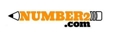Number2.com Logo - a testing prep learning website